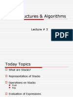 Lecture 3 Stack