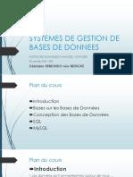 SYSTEMES DE GESTION DE BASES DE DONNEES v2