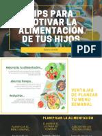 Planificación alimentación