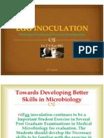 Egg Inoculation In Virology