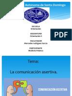 la comunicacion asetiva