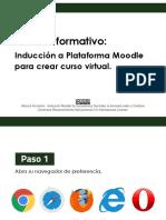 Moodle Manual Formativo - Inducción 2021