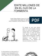 CIENTO VEINTE MILLONES DE NIÑOS EN EL OJO DE LA TORMENTA (1)