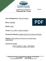 Tutorial Teste Rele ALSTOM P446 Distancia QUAD CTC