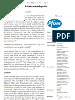 Pfizer - Wikipedia, the free encyclopedia
