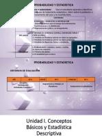 Conceptos Básicos y Estadística Descriptiva