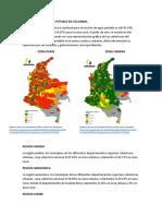 Cobertura de agua potable en Colombia