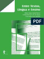 Entre Textos, Língua e Ensino