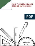 Actividad 01- INTRODUCCIÓN Y GENERALIDADES DE LOS MÉTODOS MATRICIALES 11022021