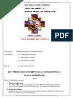 formato CEA San Gabriel para proyecto