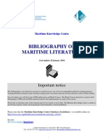 BibliographyonMaritimeLiterature_28January2010_