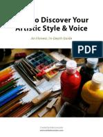 Find Your Art Style Workbook