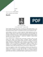 Biografia Alvaro Obregon