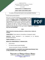 3. INTRODUCCIÒN A LA CRIMINALISTICA