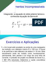 Aula 04 - Equação de Bernoulli