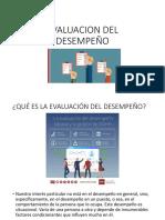 PRESENTACION EVALUACION DEL DESEMPEÑO