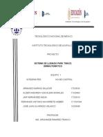 Sistema de Llenado Para Tinaco Semiautomatico