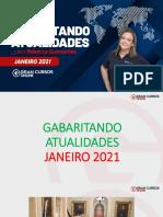 Gabaritando Atualidades - Janeiro 2021 - Rebecca Guimarães