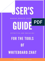 Guide to Tools of Whiteboard.Chat