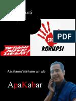 Anti Korupsi Baru 21