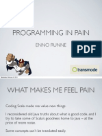 Programming In Pain