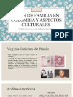Expo. Tipos de Familia en Colombia. Políticas Públicas y Socioantropológicas