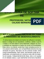 ATRIBUTOS E BOAS PRÁTICAS NO DESENVOLVIMENTO DE SOFTWARE