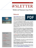 Newsletter T&P N°44 Eng
