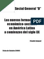 Spiguel Claudio - Las nuevas formaciones econ+¦mico-sociales en Am+®rica Latina