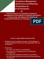 Corporate Compliance Management KR Chandratre