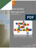 tqm assignment goal organizational culture total quality management assignment no 1