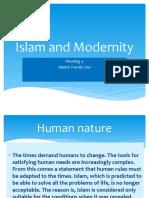 Islam and Modernity
