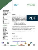 Invitation and Program