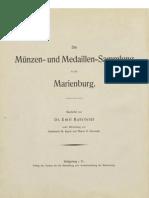 Die Münzen- und Medaillen-Sammlung in der Marienburg. Bd. VII