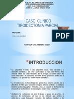 CASO CLINICO TIROIDES