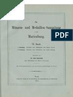 Die Münzen- und Medaillen-Sammlung in der Marienburg. Bd. VI. 1. Abth.