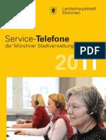 Service-Telefone 2011