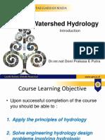 Kuliah 1 HidrologiDAS Pendahuluan 2020