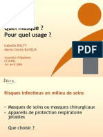 PPT Masque protection