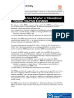 IFRS Technical Summary