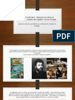 Proiect individual ,, Elemente de realism în romanul (2)