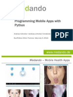 Programming Mobile Apps With Python