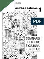 AS CIÊNCIAS SOCIAIS E OS ESTUDOS DE FOLCLORE