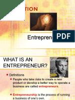 Entrepreneurs & Innovation