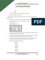Ghani DBMS Lock Based Protocols