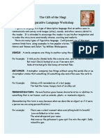The Gift of the Magi  Figurative Language Workshop_Student