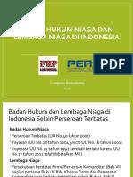 Badan Hukum dan Lembaga Niaga di Indonesia - Sampurno 2020