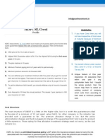 Hdfc Crest Profile