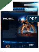 Immortal-Unit Description - Game - StarCraft II