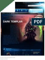 Dark Templar-Unit Description - Game - StarCraft II